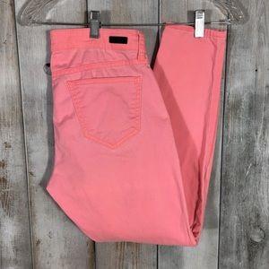 Kut From The Kloth Neon Hot Pink Brigitte Pants